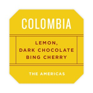Colombia La Victoria from Square One Coffee.